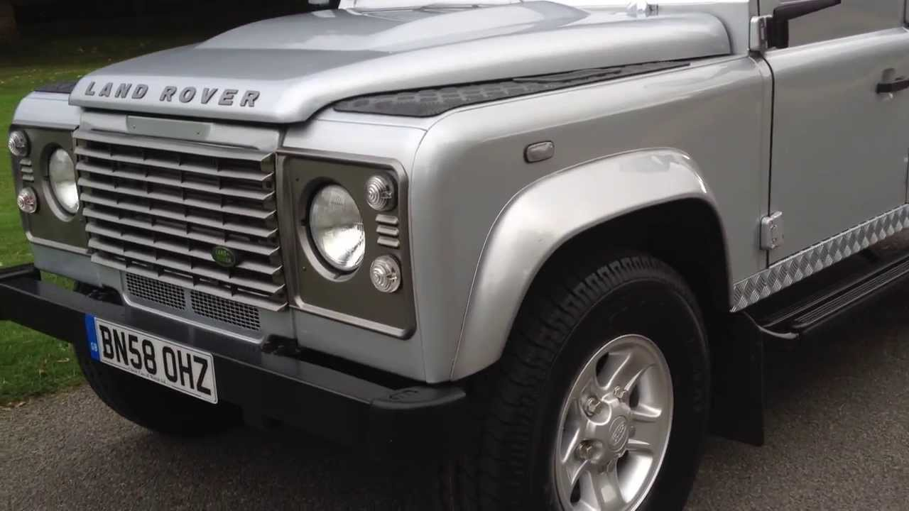 2008 Land Rover Defender Tdi 110 County For Sale Youtube
