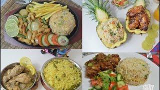 চারটি মজার চিকেন ও ফ্রাইড রাইস রেসিপি। ইফতারের জন্য একটু অন্য রকম খাবার । 4 Chicken & Rice Recipe