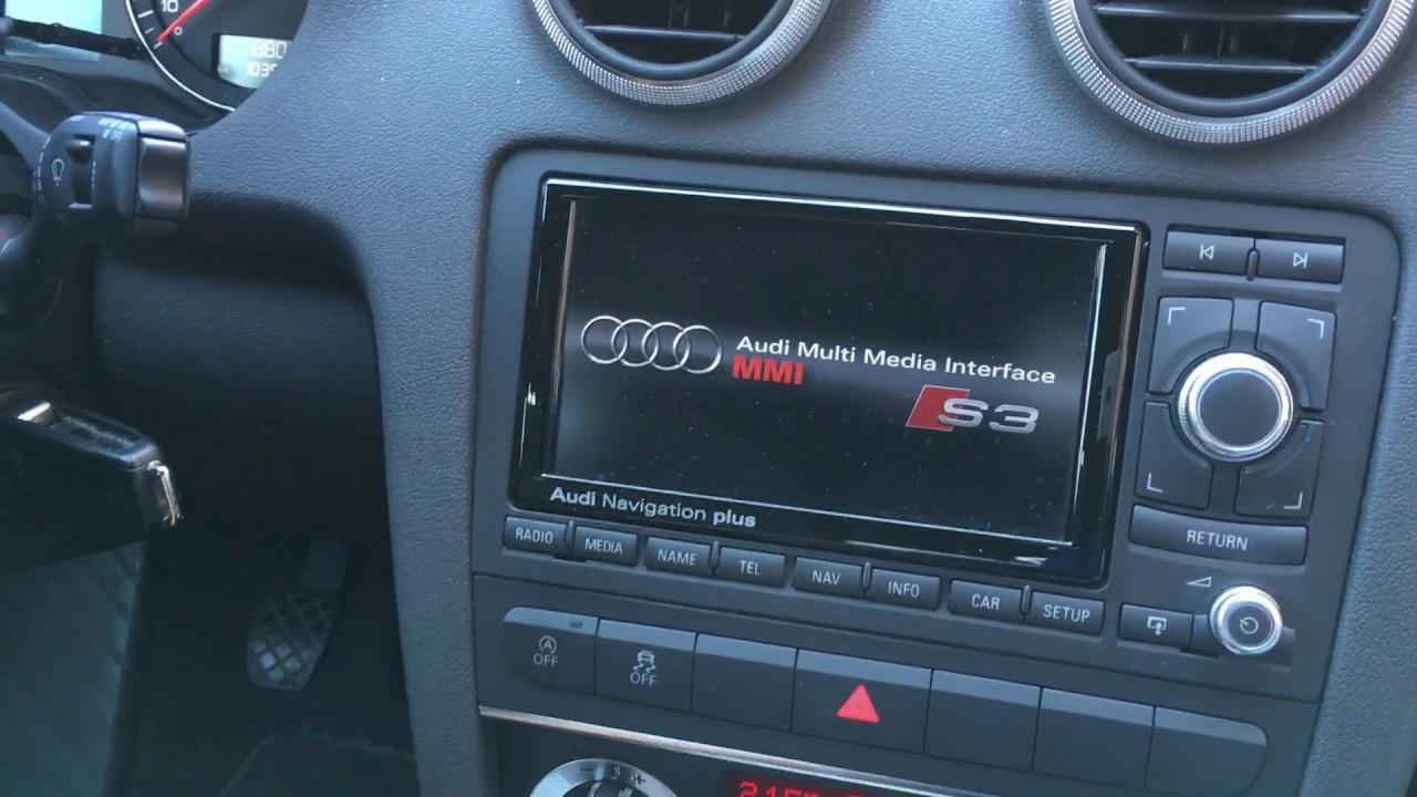 cambiar pantalla de inicio rns e en audi a3 8p con vag com youtube rh youtube com