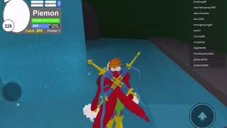 Digimon aurity Roblox new Piemon update