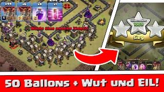 Clash of Clans | 50 Ballons + Wut und Eil! | Reazor [Deutsch/German|HD]