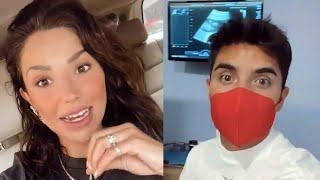 María Fernanda Quiroz 'Ferka' y Christian Estrada se emocionan tras ver a su hijo en el ultrasonido