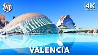 City of Arts and Sciences, Valencia - 🇪🇸 Spain - 4K Walk…