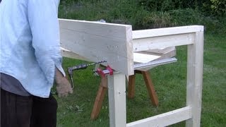 How To Build A Workbench - (part 9) (assembly Part 1) - With Paul Sellers