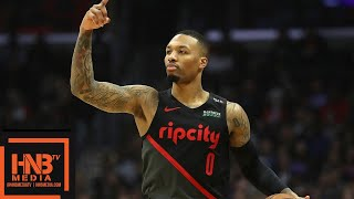 LA Clippers vs Portland Trail Blazers Full Game Highlights | 12.17.2018, NBA Season