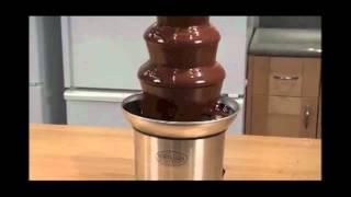 smart worldwide nostalgia s stainless steel chocolate fountain