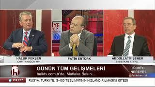 Türkiye Nereye 13 Mart 2018 / Abdüllatif Şener - Haluk Pekşen 2. Bölüm
