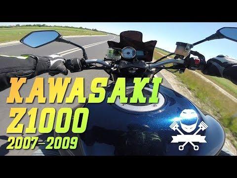 Kawasaki Z1000 (2007-2009) - litrowy silnik i sporo mocy - to dopiero Naked!