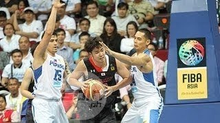Watch - Marc Pingris and Japeth Aguilar Best Play in Fiba Asia 2013
