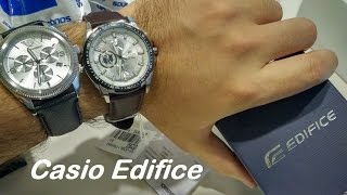 Casio Edifice - EF-336L-7AVDF Unboxing & Review
