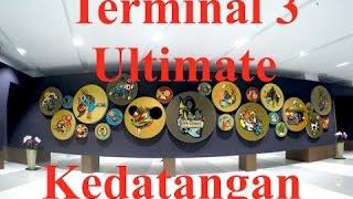 Terminal Kedatangan Terminal 3 Ultimate, Soekarno  Hatta International Airport