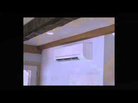 install midea mini split ac in mini split warehouse youtube. Black Bedroom Furniture Sets. Home Design Ideas