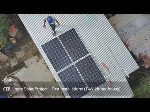 Home Solar Project in Mauritius by Reneworld Ltd