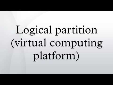 Logical partition (virtual computing platform)