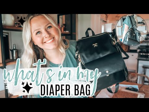 what's-in-my-diaper-bag-|-summer-edition-2020-|-miss-fong-peace-and-love-bag-review
