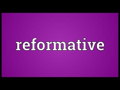 Header of reformative
