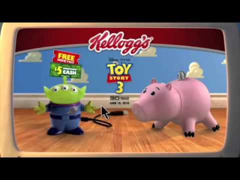 Kellogg's Cereals - Toy Story 3 Promo (2010)