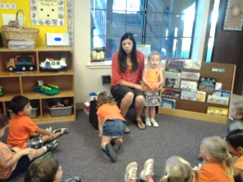 Sydney Orange Day at Preschool