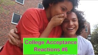 College Acceptance Reactions 2018 Compilation #6