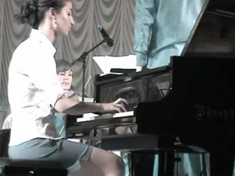 V.Mozart  №23 (A-dur) 3ч.- исполняет Элмас Чайлак