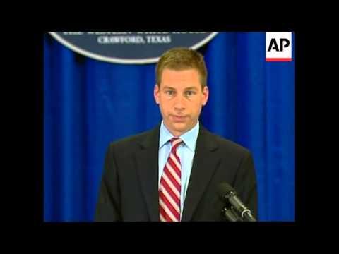 White House spokesman comment on NATO, Georgia developments