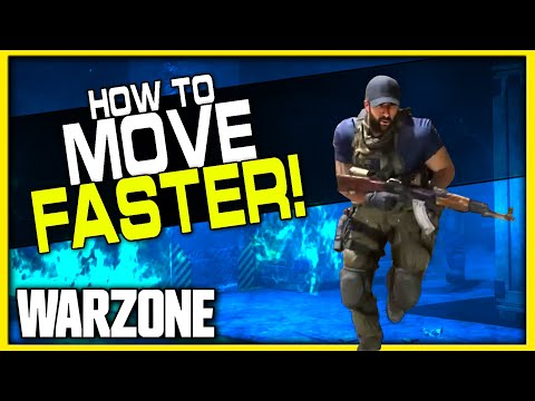 How to Move Faster in Warzone! (While on Foot)