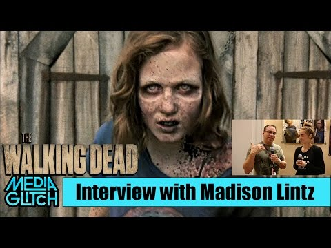 THE WALKING DEAD'S MADISON LINTZ