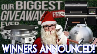ANNOUNCING THE WINNERS OF OUR BIGGEST GIVEAWAY EVER! | SAM THE COOKING GUY 4K