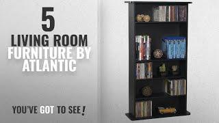 Top 10 Atlantic Living Room Furniture [2018]: Atlantic DrawBridge 240 Media Storage & Organization
