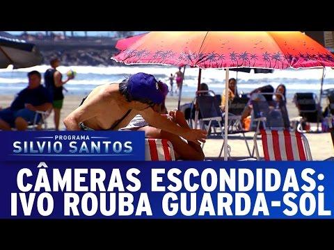 Câmera Escondida (04/12/16) - Ivo rouba Guarda-Sol
