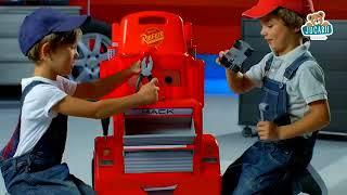 Căruciorul cu atelier a Mașinii Mack Truck Smoby c