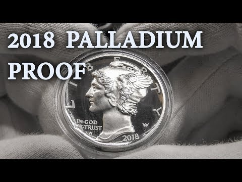 2018 American Palladium Eagle Proof  - US Mint Unboxing