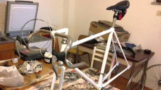 Restaurare la bici (Bianchi)