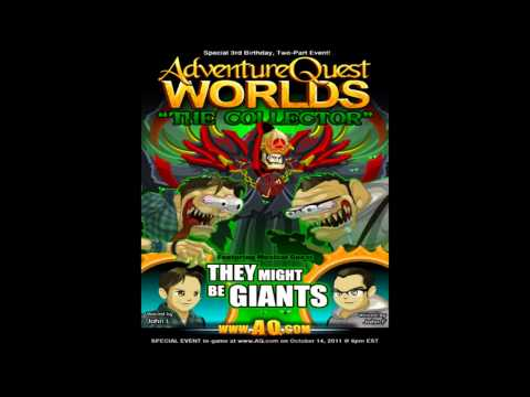 AQW They Might Be Giants Soundtrack Doctor Worm