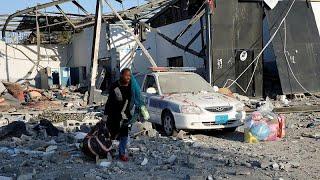 Libyen: Angriff auf Flüchtlingslager