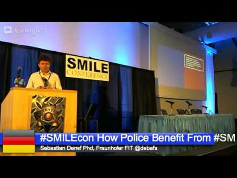 #SMILEcon How Police Services Benefit From Adapting Social Media