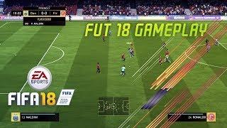 FIFA ULTIMATE TEAM 18 GAMEPLAY vs CASTRO1021 W/ 93 GULLIT, C. RONALDO, MESSI, NEYMAR AND MORE!