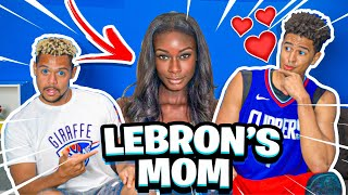 Guess That NBA Players Mom w/ 2HYPE House !!