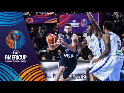 Virgin Islands v Argentina - Full Game - FIBA AmeriCup 2017
