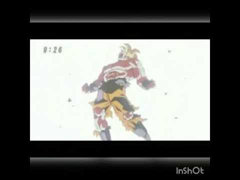 Goku grita maldicion