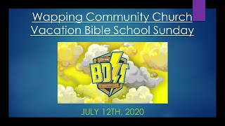 Vacation Bible School Sunday - 2020-07-12