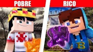 RICO VS POBRE - O SUPER MONSTRO DE SLIME / AMOEBA NO MINECRAFT