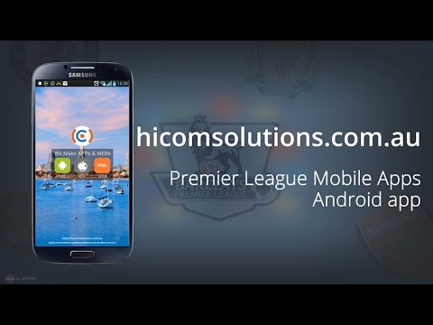 Premier League live score football android app source code for sale