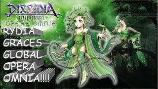 Dissidia Final Fantasy: Opera Omnia Rydia Graces Global Opera Omnia!!