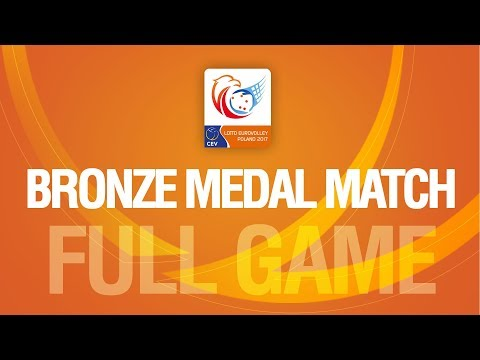 Serbia vs. Belgium | Bronze Medal Match | LOTTO EUROVOLLEY POLAND 2017