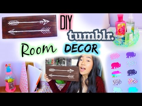 DIY: Tumblr Room Decor & Organization for Cheap   Collab with Gabsi Salant