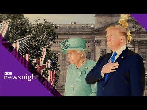 Bill de Blasio: 'Donald Trump should apologise to Sadiq Khan' - BBC Newsnight