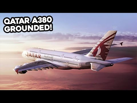 WHAT HAPPENED To The QATAR AIRWAYS A380?