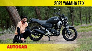 Yamaha FZ-X review - What X-actly is it?   Ride Review   Autocar India