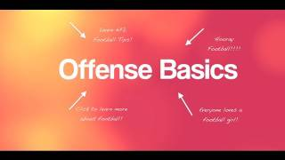 FootballWife - Football Basics: NFL Offense
